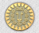 значок металевий 53
