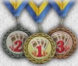 Медаль спортивна 6